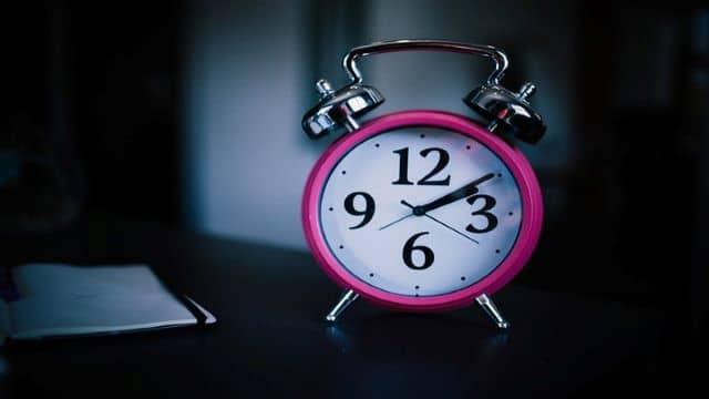 daily sleep regimen